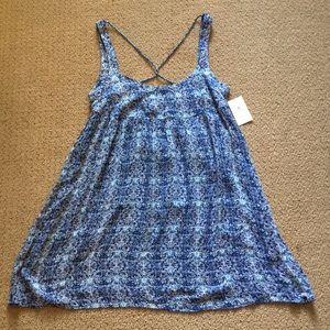Blue summer sundress (NEVER WORN!)